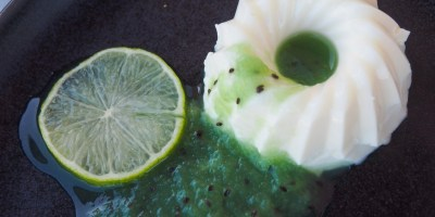 How the classic Panna Cotta turns green for St Patrick's Day