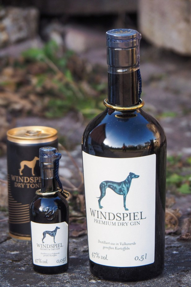 Windspiel Gin: Celebrating Frederick the Great and his love of potatoes and greyhounds