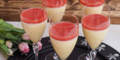 Bellini Mousse Recipe | The ultimate interpretation of the classic Bellini Cocktail