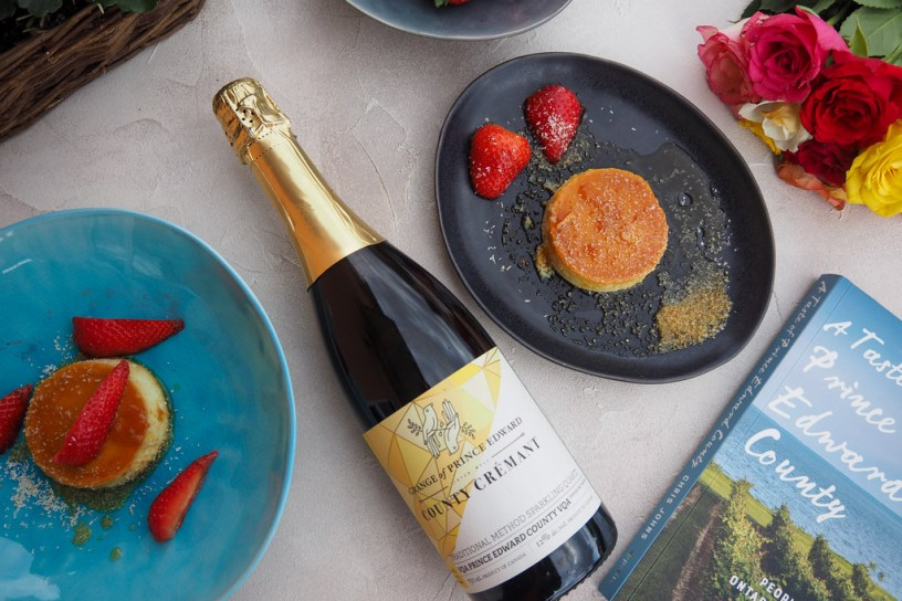 Getting transported to Canadian Wine Country with Grange of Prince Edward County Crémant
