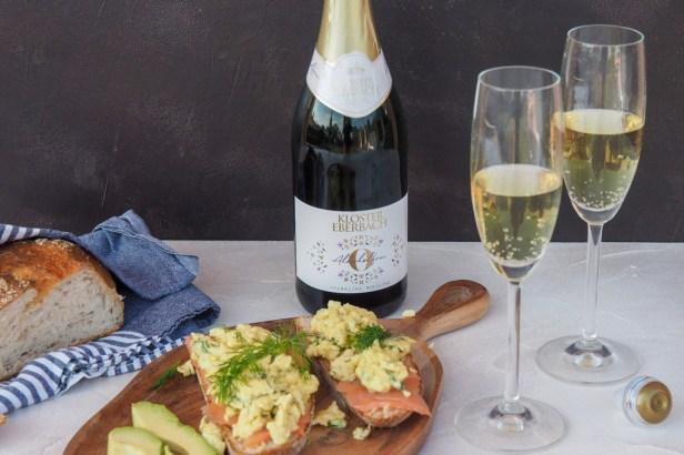 A fantastic breakfast sparkler: Kloster Eberbach no-alcohol sparkling Riesling