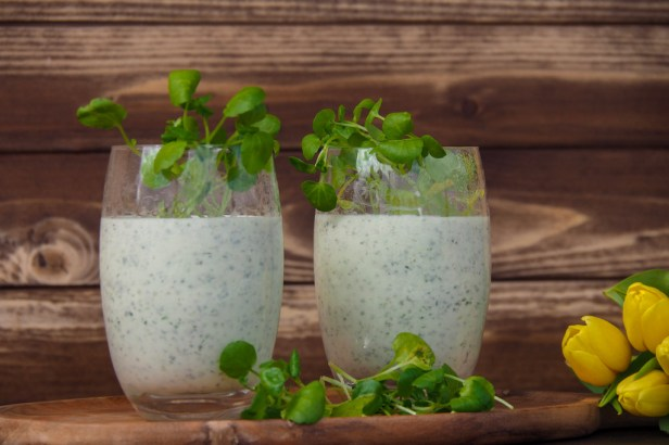 Watercress-Ricotta Mousse, the ultimate Spring antipasto recipe