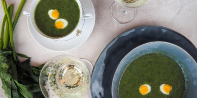 Seasonal Food | Wild Garlic Soup