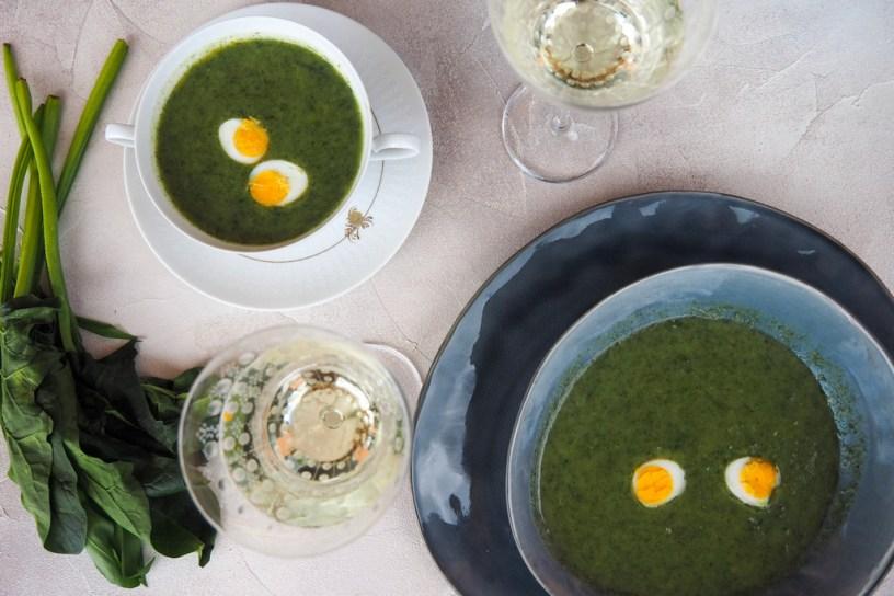 Seasonal Food | Wild Garlic Soup