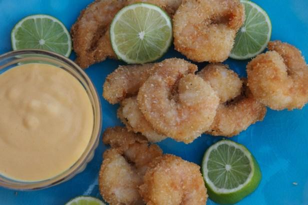 Fried Coconut Shrimp with Mango Dip | Blanc de Blancs