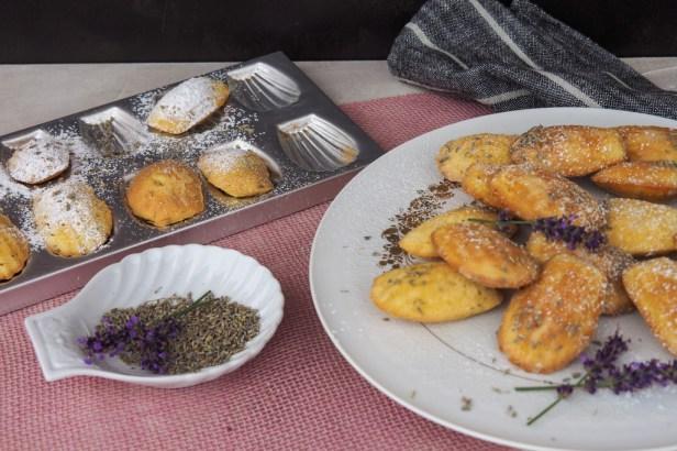 Making Lavender Madeleines … because peak lavender season