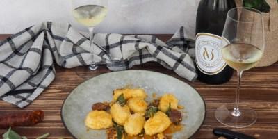 Polenta Gnocchi with Chorizo | Lugana
