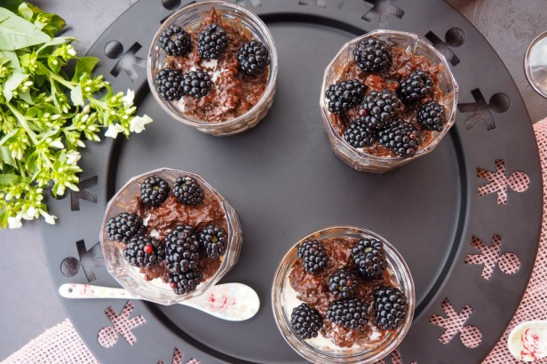 This easy Black Chocolate Rice Pudding brings back sweet childhood memories