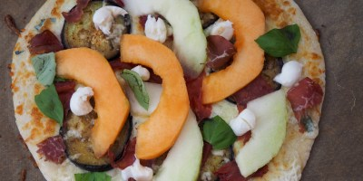 White Melon Pizza | Lambrusco