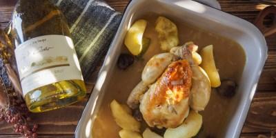 A taste of Normandy |Baby Chicken braised in Apple Cider