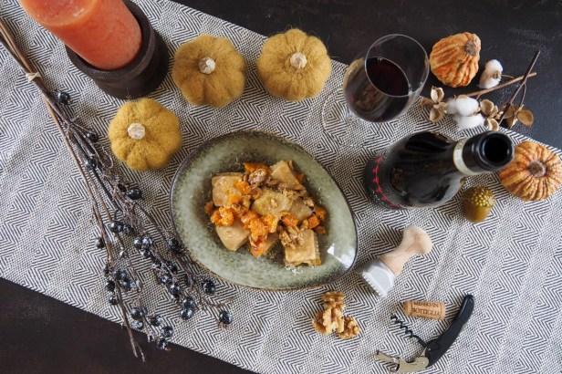 Celebrating autumn with Allegrini Villa Cavarena Amarone and homemade Pumpkin Ravioli